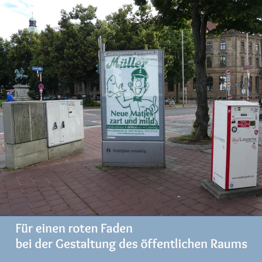 Bamberg braucht einen Masterplan für den öffentlichen Raum